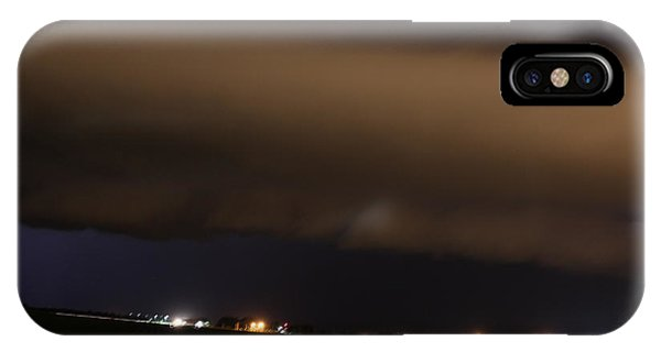iPhone Case - Nebraska Shelf Cloud A Cometh by NebraskaSC