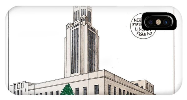 Nebraska State Capitol IPhone Case