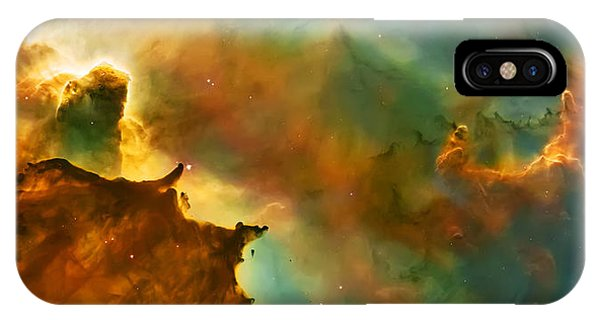 Space iPhone Case - Nebula Cloud by Jennifer Rondinelli Reilly - Fine Art Photography