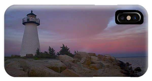 Ned's Point At Sunset IPhone Case