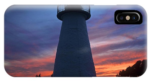 Ned's Point Lighthouse Phone Case by Amazing Jules