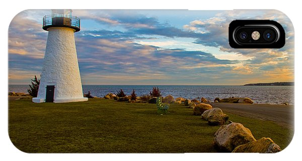 Neds Point Lighthouse IPhone Case
