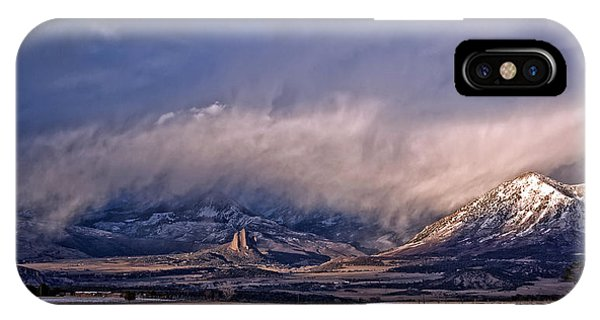 Needle Rock Winters Glow IPhone Case