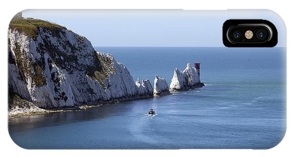 Needle's Isle Of Wight IPhone Case