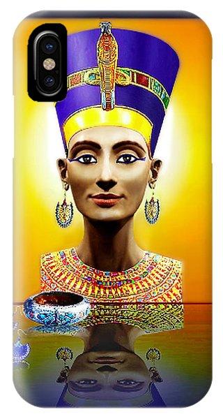 Nefertiti  The  Beautiful IPhone Case