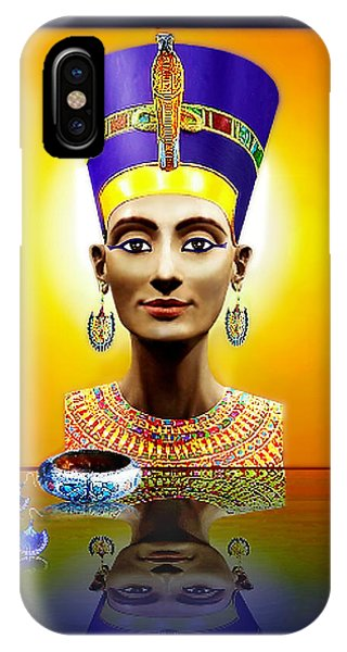 Nefertiti  The  Beautiful IPhone Case