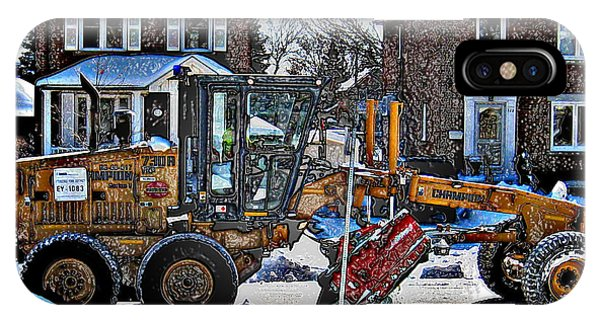Neighbourhood Snowplough IPhone Case