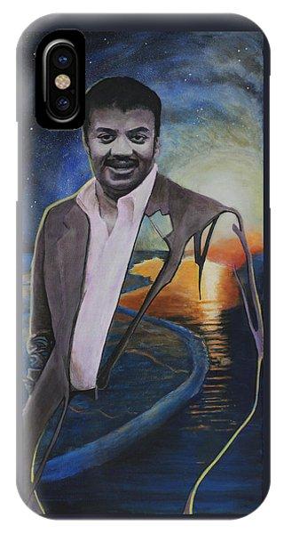 Neil Degrasse Tyson- Shore Of The Cosmic Ocean IPhone Case