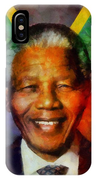 Nelson Mandela 1918-2013 IPhone Case