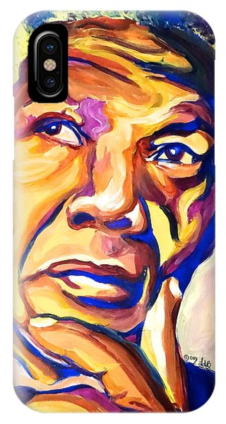 Nelson Mandela Thoughts Phone Case by LLaura Burge