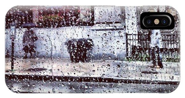 Neon And Rain IPhone Case