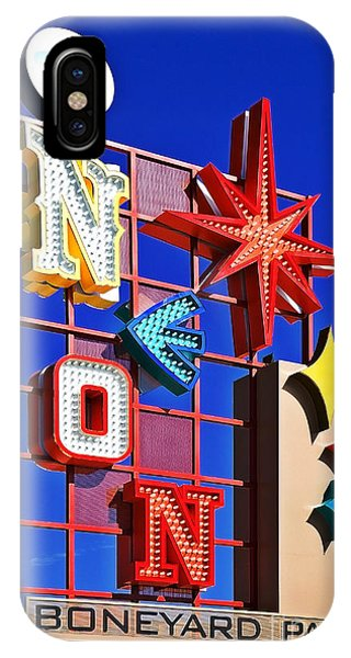 Vegas Neon Boneyard IPhone Case