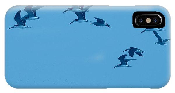 Neon Flight IPhone Case
