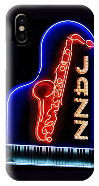 Neon Jazz IPhone Case
