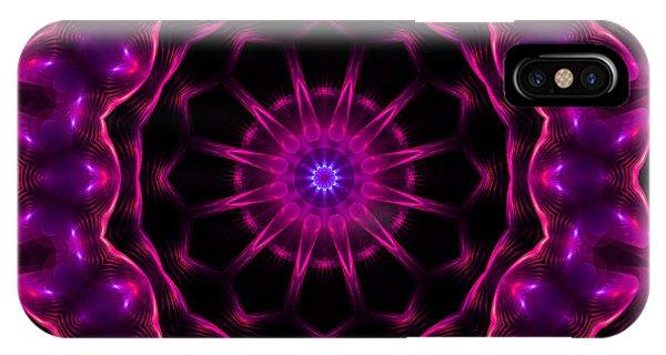 Neon Magic IPhone Case
