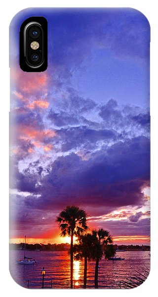 Neon Sky IPhone Case