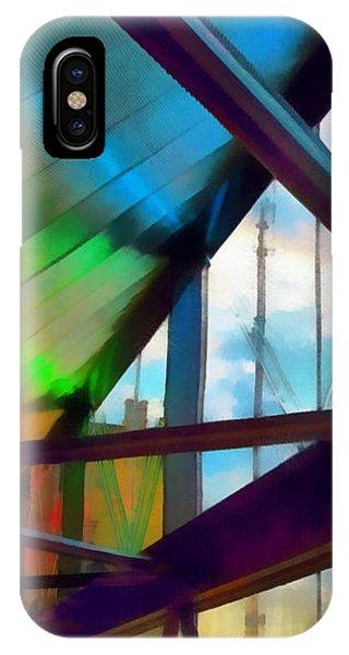Neon Skywalker IPhone Case