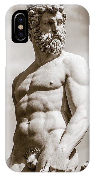 Neptune Statue In Florence IPhone Case