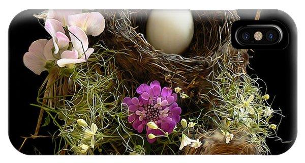 Nest Egg IPhone Case