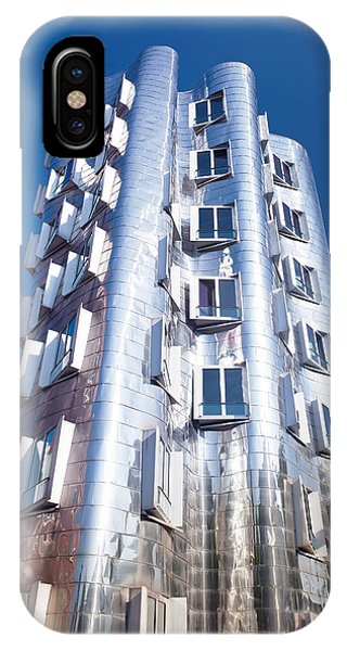 Gehry iPhone Case - Neuer Zollhof Building Designed by Panoramic Images