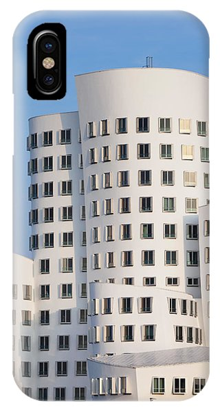 Gehry iPhone Case - Neuer Zollhof Buildings Designed by Panoramic Images