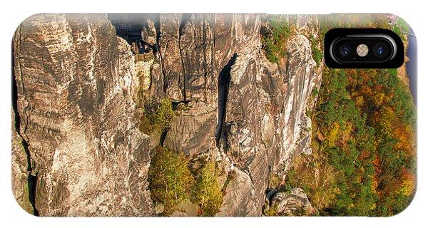 Neurathen Castle In The Saxon Switzerland IPhone Case