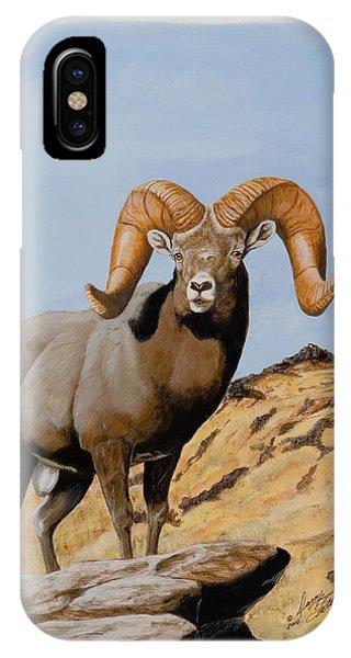 Nevada California Bighorn IPhone Case