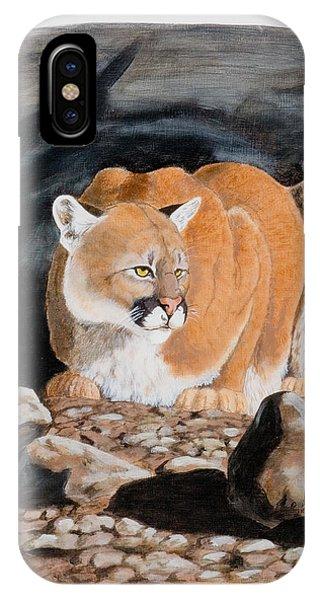 Nevada Cougar IPhone Case