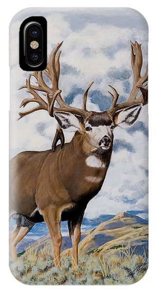 Faria Nevada Nontypical Mule Deer IPhone Case