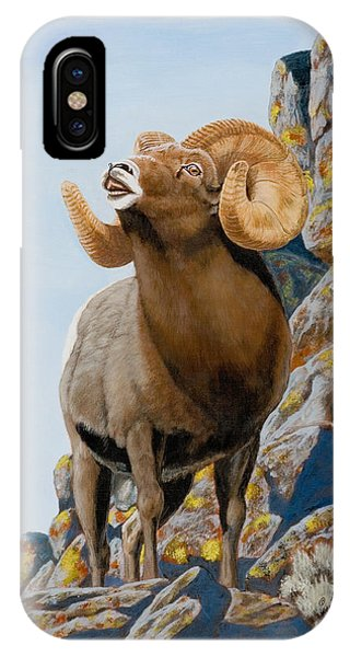 Nevada Rocky Mountain Bighorn IPhone Case