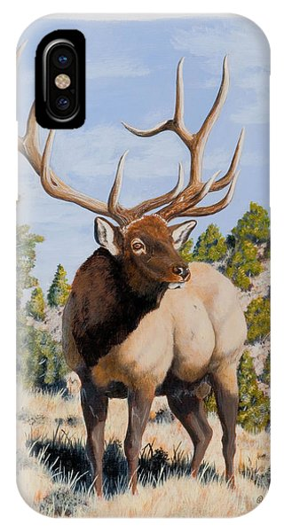 Nevada Typical Elk IPhone Case