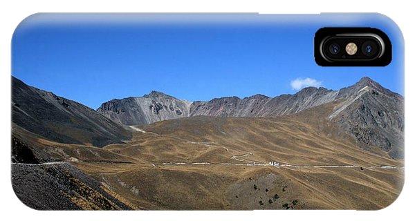 Nevado De Toluca Mexico IPhone Case