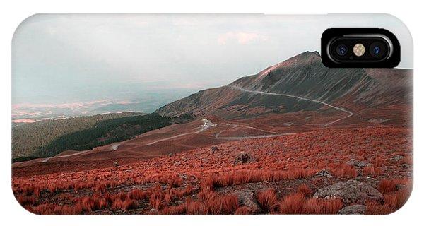 Nevado De Toluca Mexico II IPhone Case
