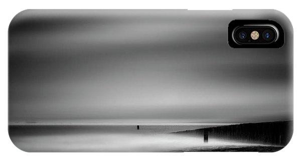 North iPhone Case - Never Ceasing Whisper Of The Sea by Yvette Depaepe