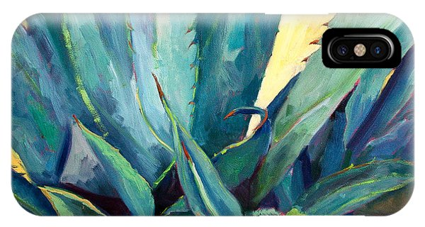 New Blue Agave Phone Case by Athena Mantle
