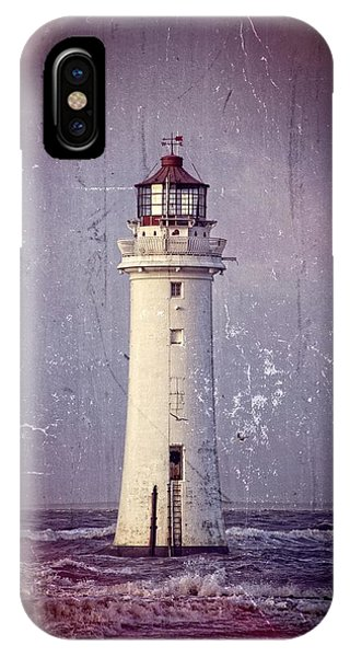 New Brighton Lighthouse IPhone Case