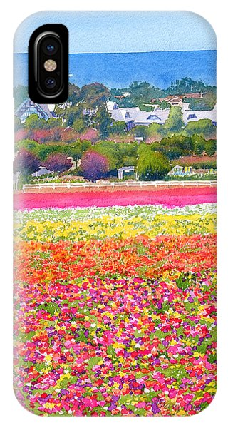 New Carlsbad Flower Fields IPhone Case