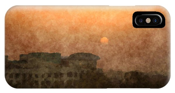 New Delhi Sunset IPhone Case