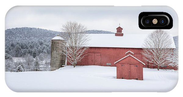 New England Barn iPhone Case - New England Barns by Bill Wakeley