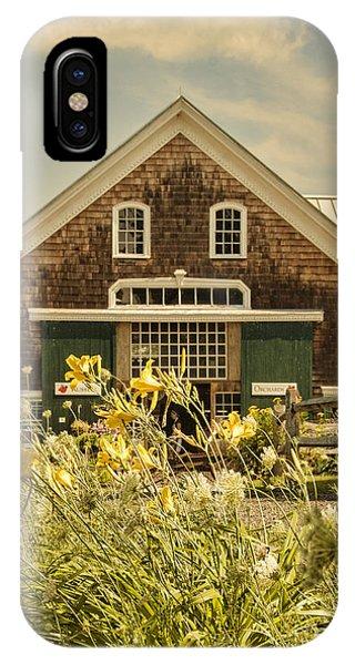 New England Barn iPhone Case - New England Farmhouse by Juli Scalzi