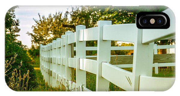 New England Fenceline IPhone Case