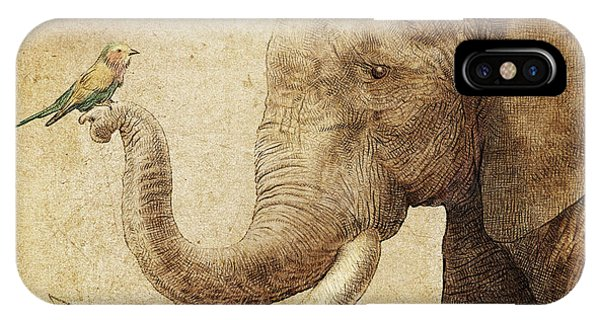 Illustration iPhone Case - New Friend by Eric Fan