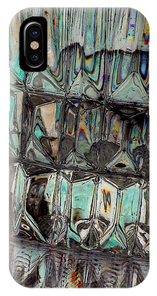 iPhone Case - New Glass Abstract 18 by B L Hickman