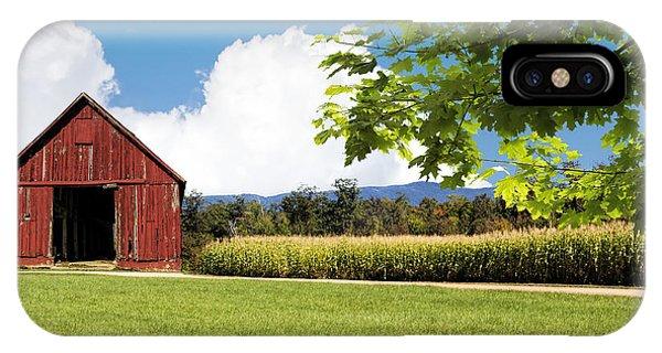 New Hampshire Barnyard IPhone Case