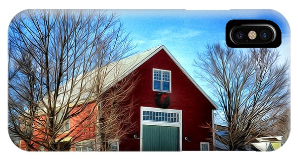 New Hampshire Farm IPhone Case