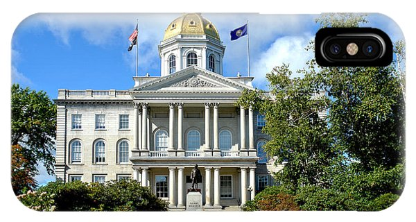 New Hampshire iPhone Case - New Hampshire State Capitol by Olivier Le Queinec