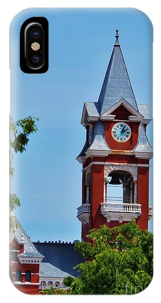 New Hanover County Courthouse Bell Tower IPhone Case