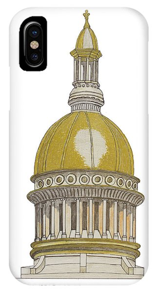 New Jersey State Capitol IPhone Case