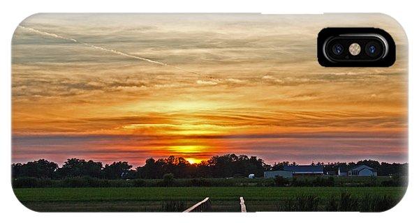 New Jersey Summer Sunset IPhone Case