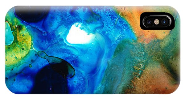 Earthy iPhone Case - New Life - Abstract Landscape Art by Sharon Cummings